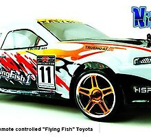 "Electric Drift Cars Remote controlled ""Flying Fish"" by berrymartin"
