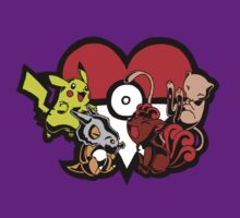 For the love of pokemon by JoeyDeadMan