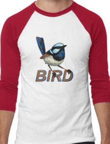BIRD - Fairy Wren (Male) Men's Baseball ¾ T-Shirt