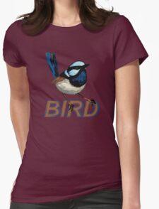 BIRD - Fairy Wren (Male) Womens Fitted T-Shirt