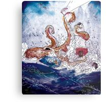 Destruction at Sea Metal Print