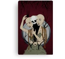 Death Amongst Kin Canvas Print