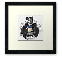 Kayou Kitsune (Original) Framed Print