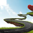 The road to Heart tree by jordygraph