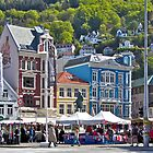 Street Market - Bergen by John Thurgood
