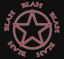 Blah, Blah, Blah - Rush Tribute Tee Kids Clothes