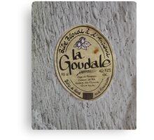 LA GOUDALE. Canvas Print