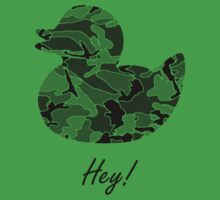 Hey, Camo Duck! by robotrobotROBOT