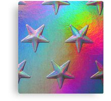 PSYCHEDELIC STARS. Canvas Print