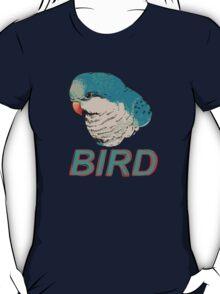 BIRD - Quaker Parrot (Blue) T-Shirt