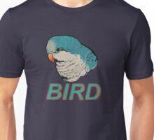 BIRD - Quaker Parrot (Blue) Unisex T-Shirt