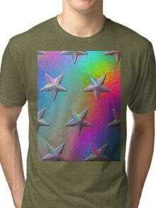 PSYCHEDELIC STARS. Tri-blend T-Shirt