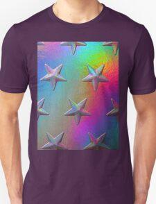 PSYCHEDELIC STARS. Unisex T-Shirt