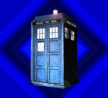 Tardis in the Spotlight (Dr Who) by Marjuned