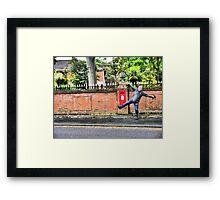 Patrick Framed Print