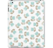 messy blue tulips iPad Case/Skin