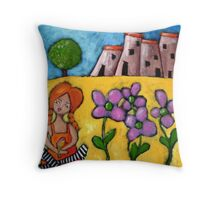 Pretty in Provence Throw Pillow