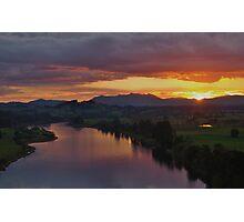 Manning Sunset Photographic Print