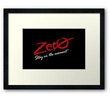 Zero VRS2 Framed Print