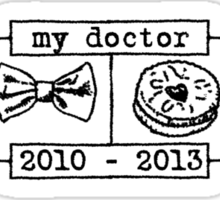 My Doctor (Smith) alt. Sticker