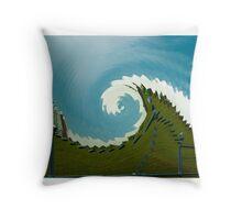 pbbyc - Newcastle Wave Throw Pillow