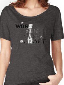 StarWARS/GATE/TREK/CRAFT Women's Relaxed Fit T-Shirt