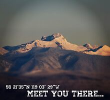 Meet you there. by chaletski