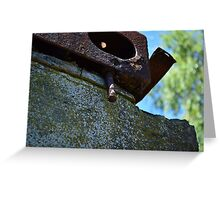 Rusted Ironworks Greeting Card