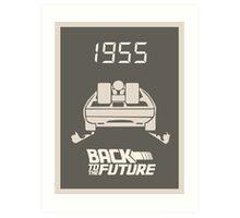 pbbyc - Back to the Future Pt 1 Art Print