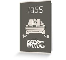pbbyc - Back to the Future Pt 1 Greeting Card