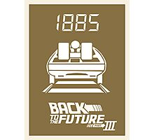 pbbyc - Back to the Future Pt 3 Photographic Print