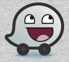 Awesome Waze Face - Boy Kids Clothes