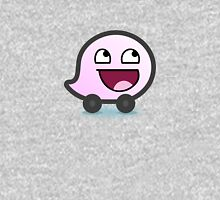 Awesome Waze Face - Girl Unisex T-Shirt