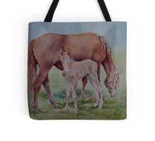 Hanging with Mom Tote Bag
