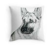 German Shepherd 2 Throw Pillow