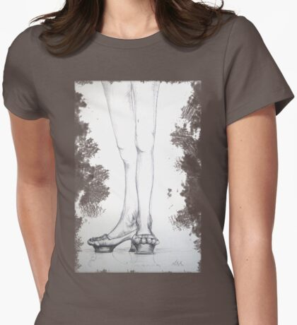pavement Womens Fitted T-Shirt