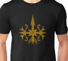 Golden Arrow-skull Tribal T-shirt Unisex T-Shirt