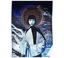 White Tara.  Poster