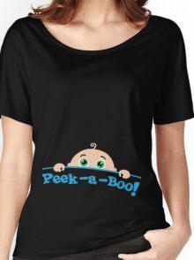 Peek a boo! Women's Relaxed Fit T-Shirt