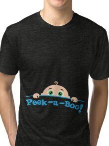 Peek a boo! Tri-blend T-Shirt