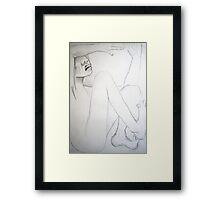 encased Framed Print