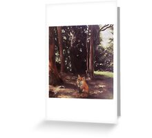 Woodland Fox Greeting Card