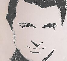 Cary Grant by Cherise Foster