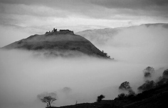 Castell Dinas Bran by Martin Griffett