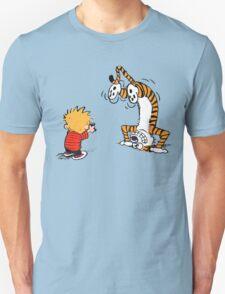 Calvin and Hobbes Selfie T-Shirt