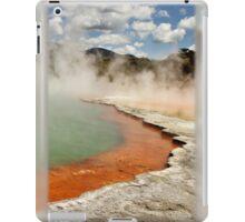 Warming Champagne pool iPad Case/Skin
