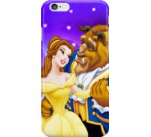 Beauty and The Beast in Love iPhone Case/Skin