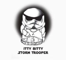 Itty Bitty Storm Trooper-Style 2 by Alex Mathews