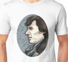 Sherlock Profile Unisex T-Shirt