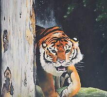 Prowling Tiger  by Troy Clark